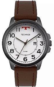 Relógio Technos 2115MPB2B Pulseira de Couro Marrom