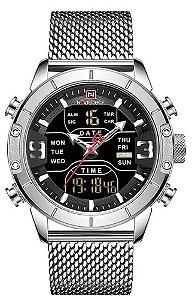 Relógio Naviforce NF9153 Prata