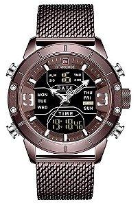 Relógio Naviforce NF9153 Bronze