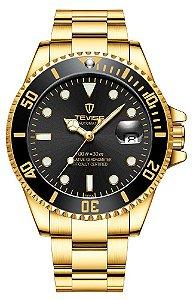 Relógio Tevise T801 Automático Dourado