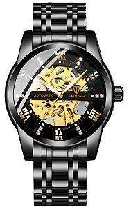 Relógio Tevise T9005A Automático Preto