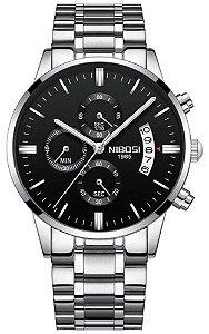 Relógio Nibosi 2309 Prata