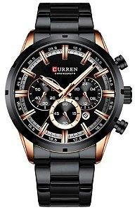 Relógio Curren 8355 Preto