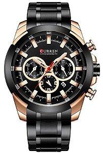 Relógio Curren 8361 Preto