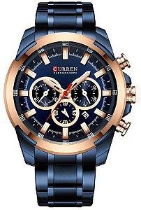 Relógio Curren 8361 Azul