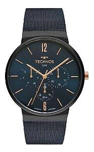 Relógio Technos Slim 6P29AKP4A Azul