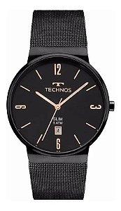 Relógio Technos Slim GM10YJ4P Preto