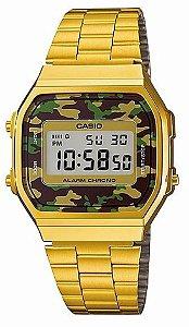 Relógio Casio A168WEGC3DF Dourado