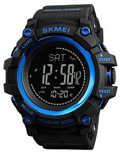Relógio Skmei 1358 Preto e Azul