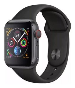 Relógio Smartwatch IWO 8 Plus 44 mm Preto