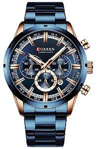 Relógio Curren 8355 Azul