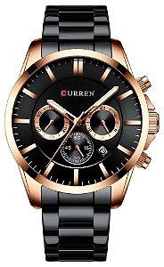 Relógio Curren 8358 Preto