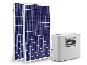 Kit Gerador Solar Fotovoltaico 0,65kWp / 70kWh 220V 1000W