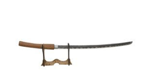 Katana Samurai X (Réplica de Madeira)