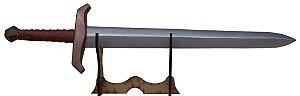 Espada Curta Medieval (Réplica de Madeira)
