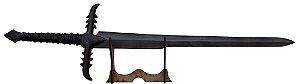Espada Nazgurl - LOTR (Réplica de Madeira)