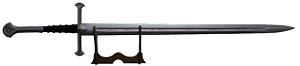 Andúril - Espada dos Reis | Espada de Aragorn  Senhor dos Anéis (Réplica de Madeira)