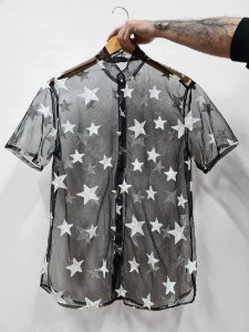 Camisa Tule Estrela