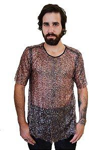 Camiseta Gotas de Paetê