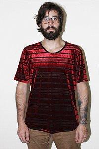 Camiseta Devorê Vermelha