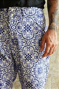 Calça Azulejo