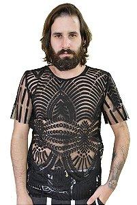 Camiseta Renda grega
