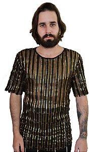 Camiseta Courino Dourado