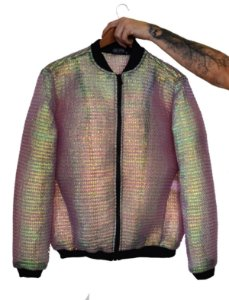Jaqueta Bolhas de Sabão