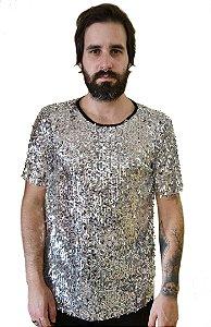 Camiseta Chuva Prata