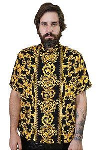 Camisa Samir Preto