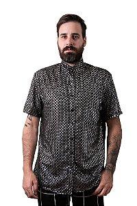 Camisa Pingos Prata