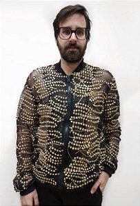 Jaqueta fio de ouro