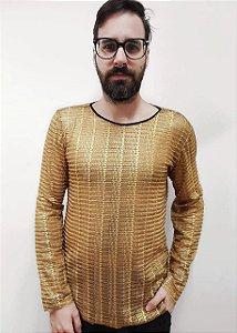 Camiseta Palha Dourada