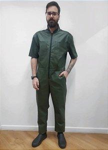 Macacão Resinado Verde