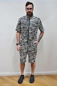 Macaquinho Zebra Resina