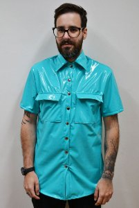 Camisa Vinil Aqua