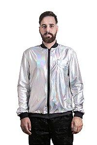 Jaqueta Fluor Holográfica