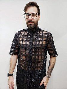 Camisa Labirinto Black