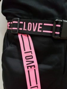 Cinto Love Pink