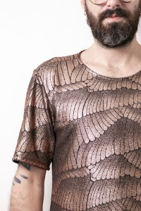 Camiseta Escamas Bronze