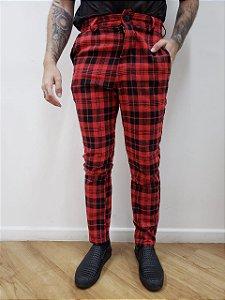 Calça Xadrez Red
