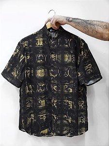 Camisa Mandarim