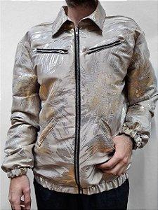 Jaqueta Flash Dourado