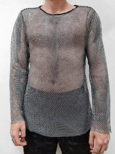 Camisa Rede Prata