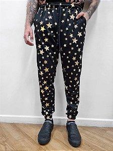 Calça Star Dourada