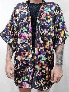 Kimono Fogos Coloridos