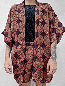 Kimono Circle colorido
