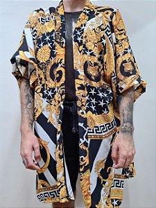 Kimono Grega Curto