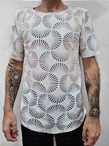 Camiseta Flocos Brancos