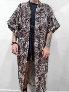 Kimono Oncinha Longo